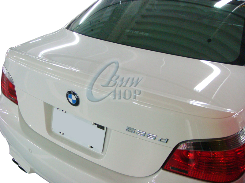 painted bmw 5 series e60 m5 type boot spoiler trunk rear. Black Bedroom Furniture Sets. Home Design Ideas