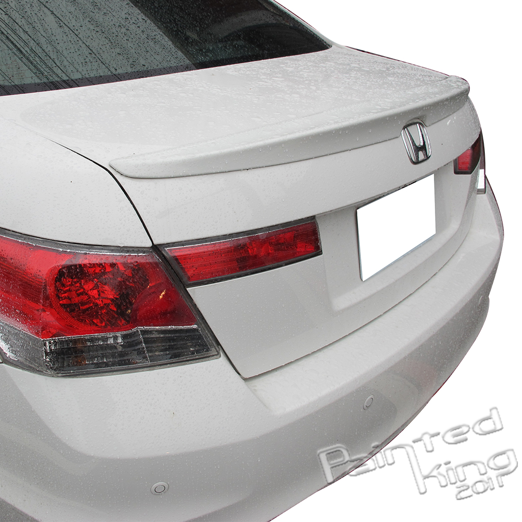 2008 Mazda6 4 Door Oem Style Spoiler: 2008-2012 FOR HONDA ACCORD 4DR FACTORY STYLE ABS OE TYPE REAR TRUNK SPOILER