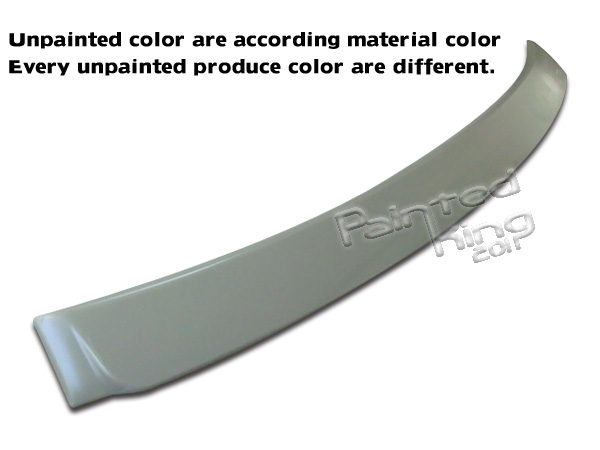 08-13 FOR TOYOTA ALTIS Corolla Sedan Rear Roof Spoiler Wing ABS Unpainted
