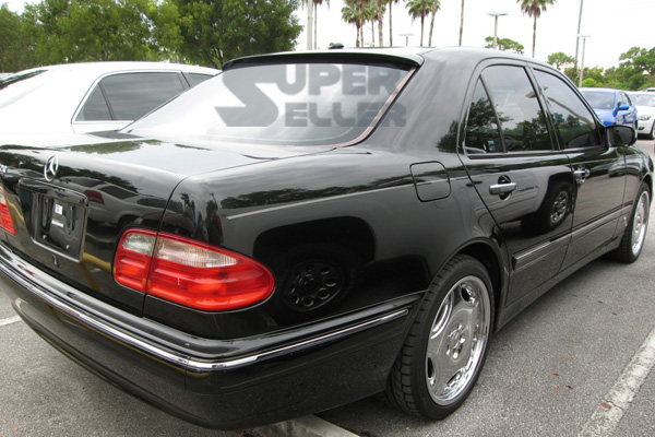 Find mercedes benz w210 e class l type rear roof spoiler for 2001 mercedes benz e320 problems