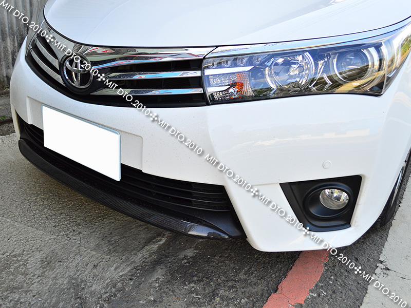 carbon fiber for toyota corolla altis front bumper lip. Black Bedroom Furniture Sets. Home Design Ideas