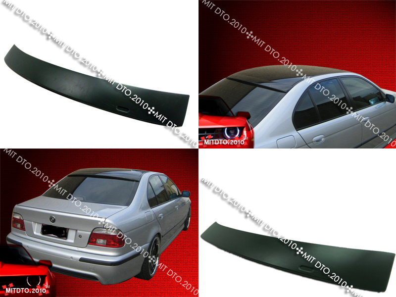 bmw e39 a type 5 series roof spoiler rear wing trunk lip. Black Bedroom Furniture Sets. Home Design Ideas
